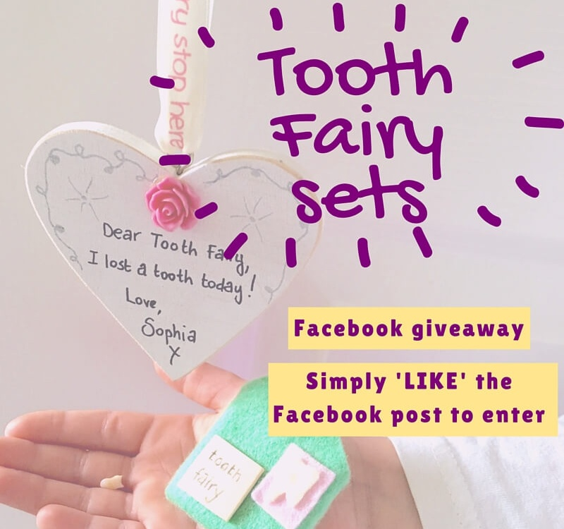 Tooth fairy sets giveaway