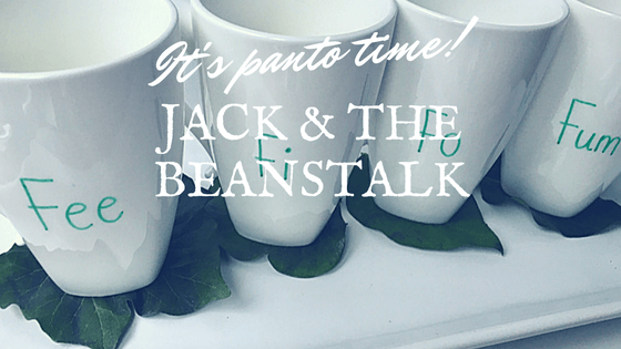 It's panto time! Jack and the Beanstalk