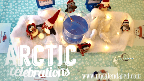 An 'Arctic' themed tea party