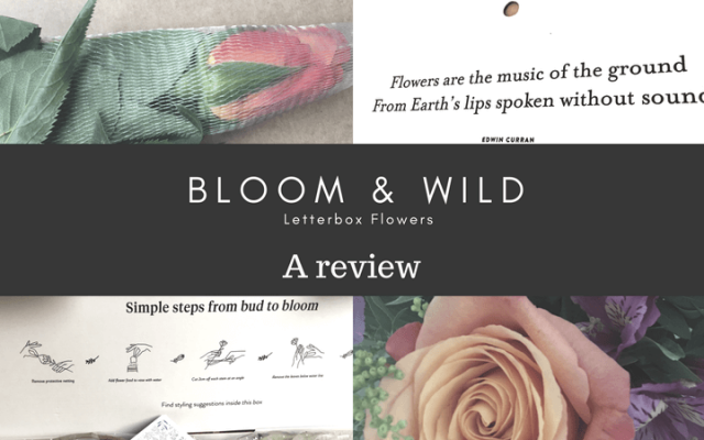 Bloom & Wild letterbox flowers: A review