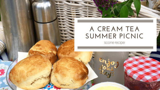 Cream Tea picnic