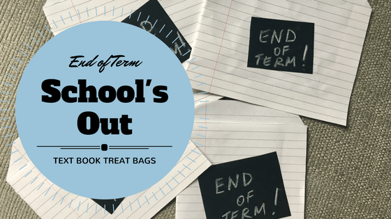 End of school term treat bags