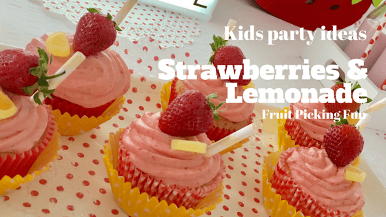 Strawberries and lemonade party ideas
