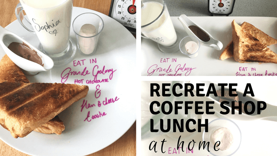 Recreate a coffee shop lunch at home
