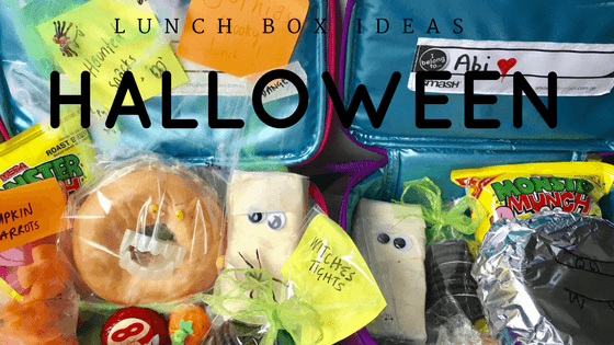 Halloween lunch boxes